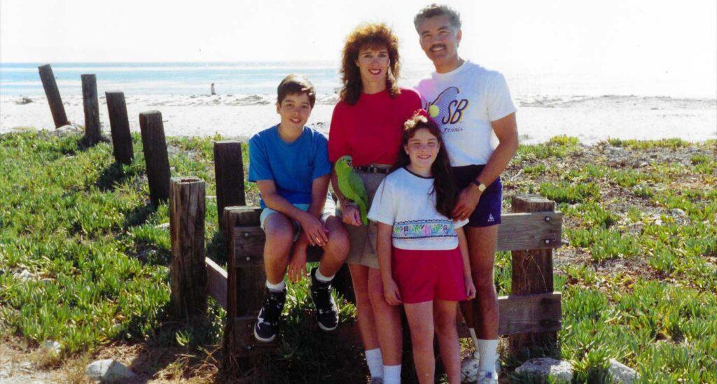1990 Goleta Beach, Santa Barbara CA.