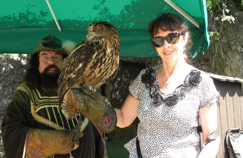 Laura & Owl in the Czech Republic