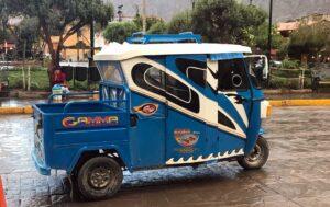 Ollantaytambo Taxi in Peru