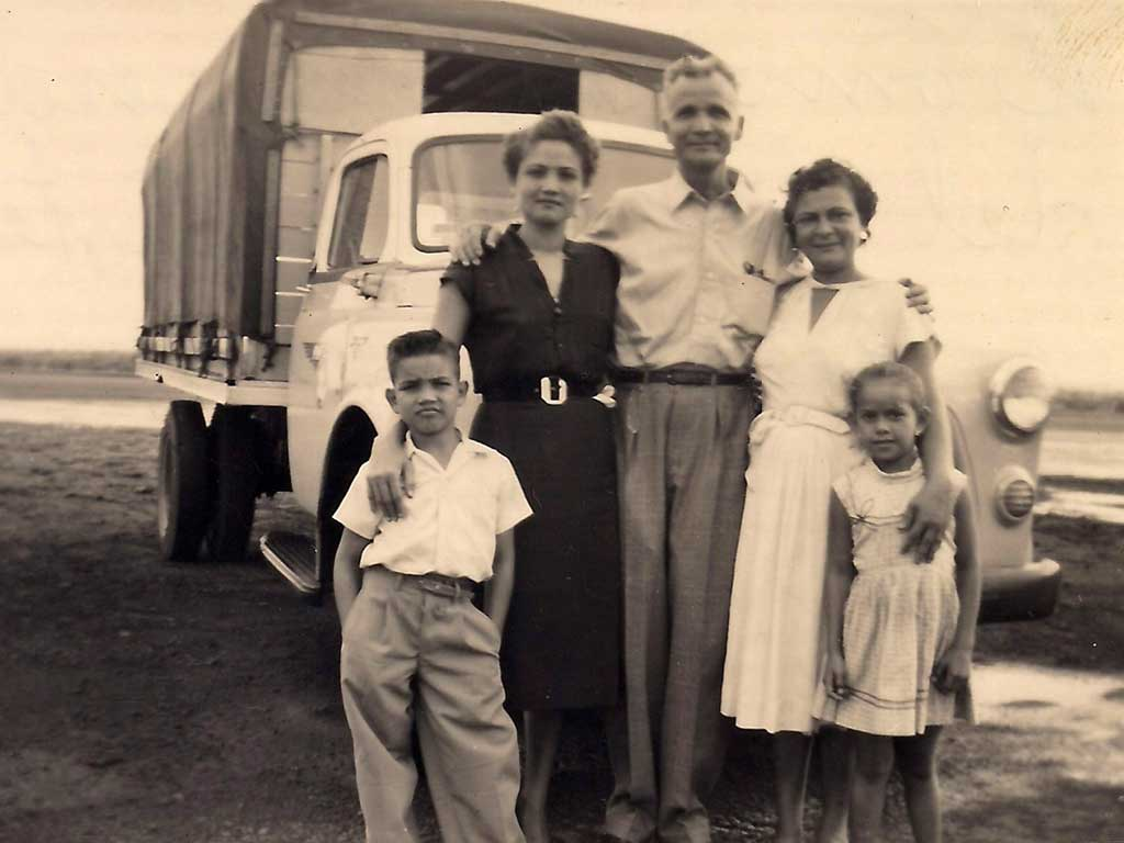 Fernando, Coco, Julio, Carmen 1956