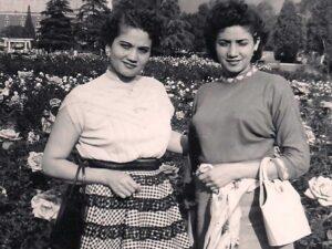 Sisters Coco & Leonor 1961