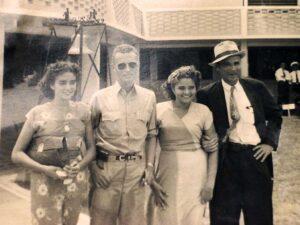 Leonor, Coco & Julio late '40's
