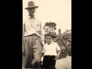 Grandfather Julio & Fernando 1955