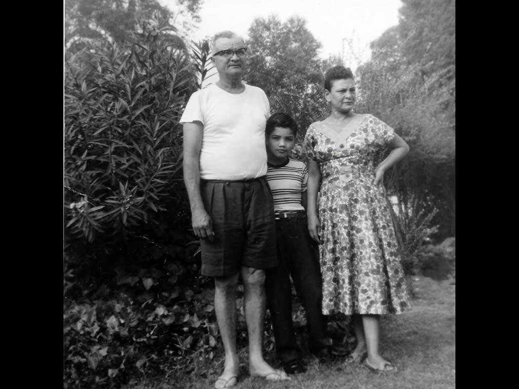 Julio, Fernando, Carmen 1959