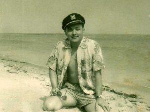 My father Bayardo Calderon 1956