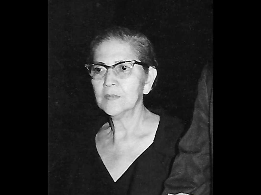 my grandmother Lydia Calderon