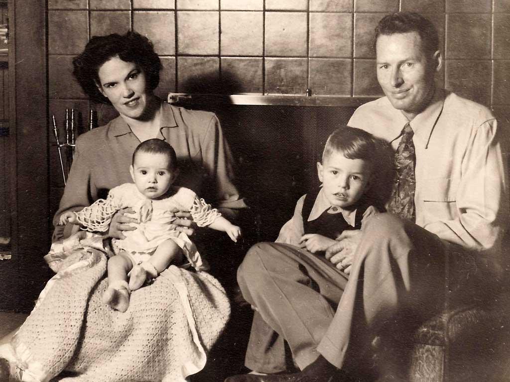 Dorr Family Christmas Card 1950