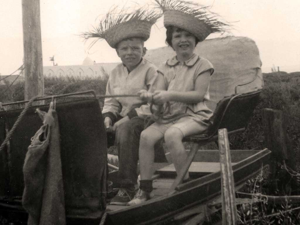Laura and Donnie 1954