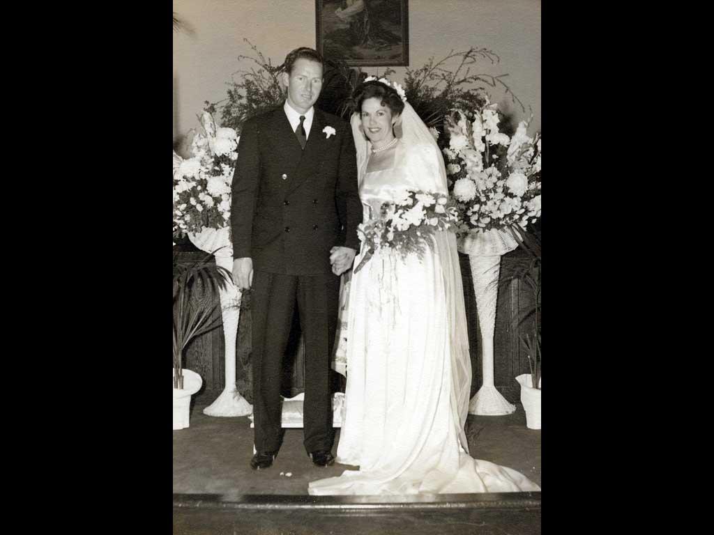 Don and Aletha November 9th, 1943