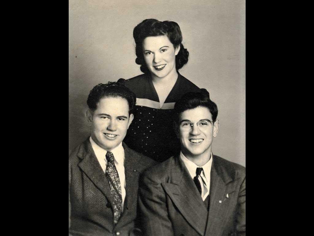 Siblings - Aletha,  Glenn & Jim