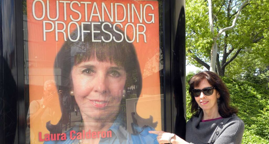 Laura Calderon, Professor of the Year Award, CSULA 2009